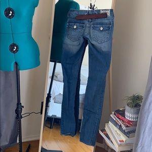 True Religion Skinny Jeans 24